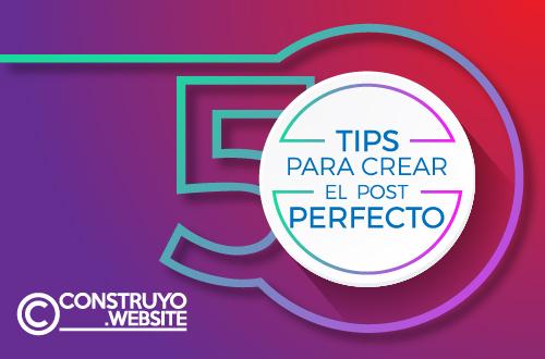 Crear la publicación perfecta